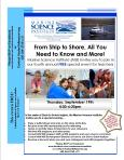 2013 MSI Teacher Event Flyer