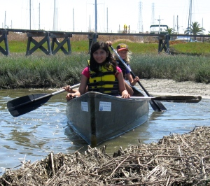 UI canoes in sloughs