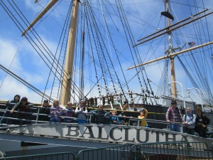 The Balclutha at Aquatic Park