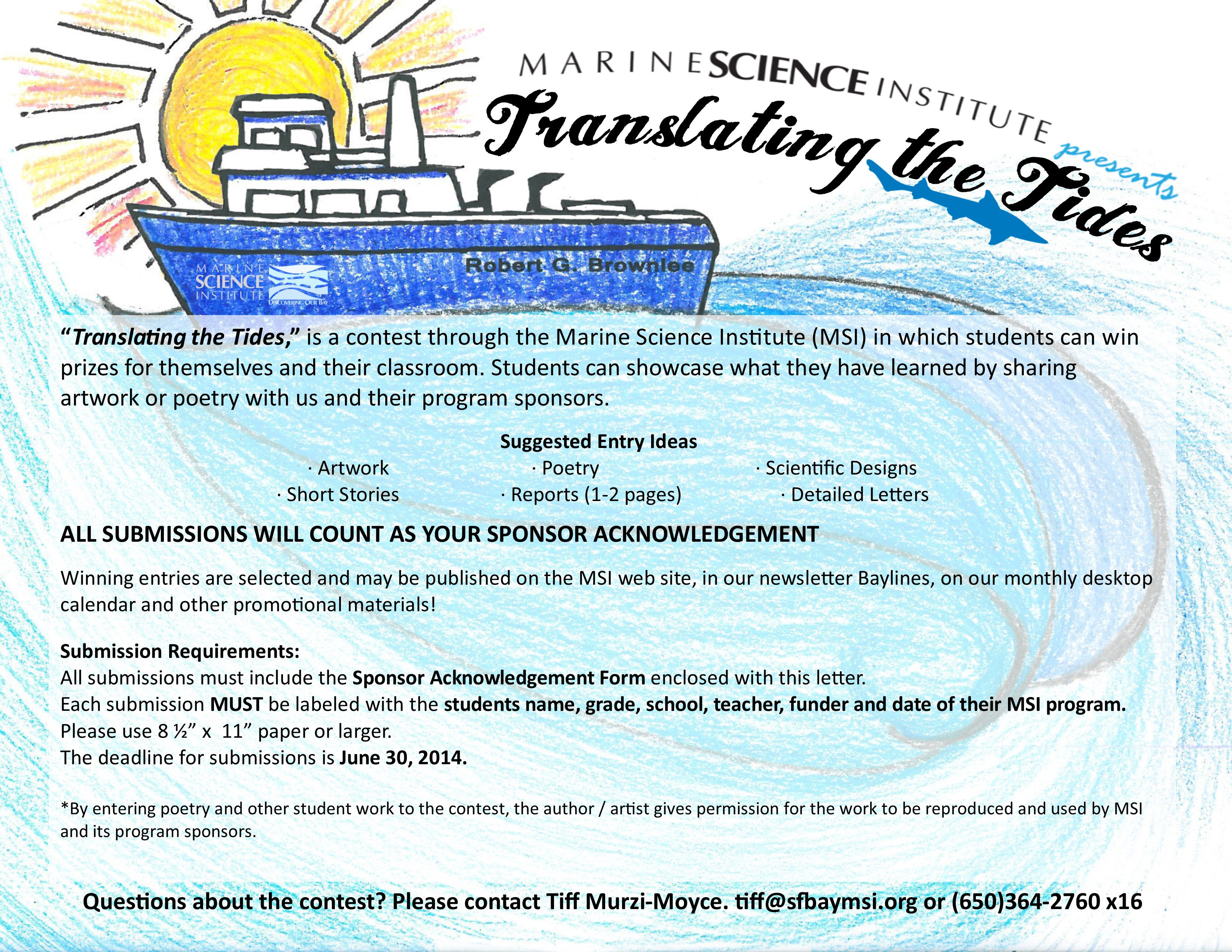 Earth Day On The Bay Marine Science Institute Blog